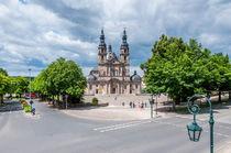 Dom zu Fulda - Südostansicht von Erhard Hess