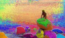 Rainbow Mermaid von Glen Mackenzie