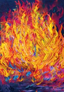 Fire and Passion - Here's to New Beginnings by eloiseart