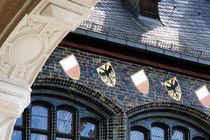 Wappen am Rathaus von fotowelt-luebeck