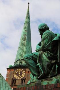 Geibel vor St. Jakobi by fotowelt-luebeck