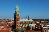 Lübeck - St. Marienkirche by fotowelt-luebeck