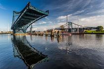 Kaiser-Wilhelm-Brücke in Wilhelmshaven by bildwerfer