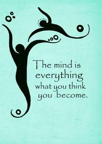Buddha Quote Poster von Lila  Benharush