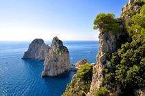 Die Felsen von Capri von Philipp Barth