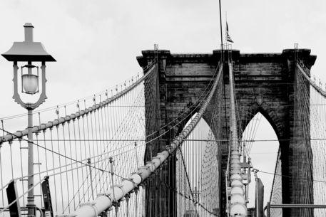 New-york-city-brooklyn-bridge-and-lantern