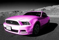 Pink Mustang  von Rob Hawkins