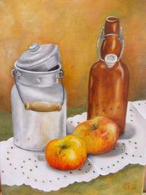 Stillleben mit Milchkanne von Dorothy Maurus