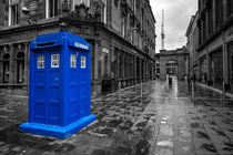 Glasgow Police Box  by Rob Hawkins