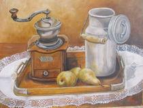 Stillleben mit Kaffeemühle by Dorothy Maurus