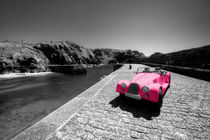Pink Morgan at Mullion  by Rob Hawkins