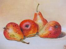 Vier Birnen von Dorothy Maurus