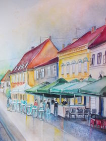 Sommer in der Altstadt von Dorothy Maurus