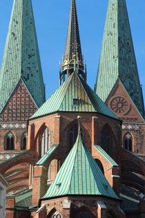 Marienkirche by fotowelt-luebeck
