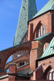 Marienkirche Teilausschnitt by fotowelt-luebeck