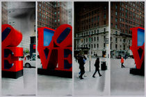 Sculpture LOVE NYC von Juergen Neher