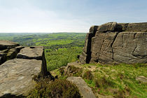 The Derwent Valley From Curbar Edge von Rod Johnson