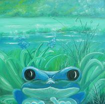 Blauer Frosch by Barbara Kaiser