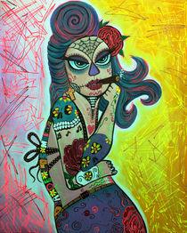 Maria De Los Muertos 2 by Laura Barbosa
