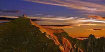 Kellerjochkapelle bei Sonnenaufgang von Leo Dick
