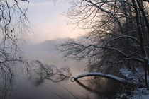 Winter am See by Bruno Schmidiger