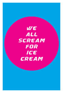 we all scream for ice cream von Andreas Weidinger