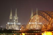 Kölner Dom - verdoppelt by friedas