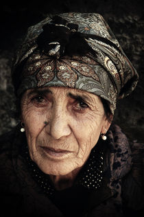 Porträt einer armenischen Bäuerin von Josch H. Pfisterer
