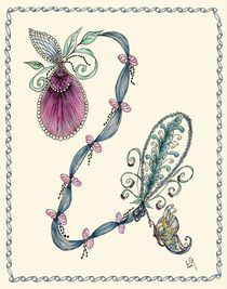 Pink Lady's Slipper von Linda Ginn
