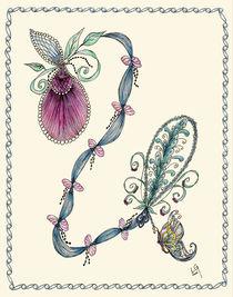 Pink Lady's Slipper by Linda Ginn