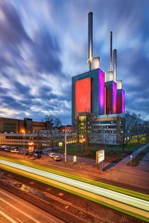 Linden power station in Hannover von Michael Abid