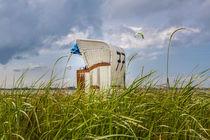 Strandkorb an der Nordsee by bildwerfer