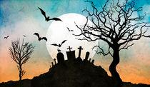 Graveyard Hill by Bedros Awak