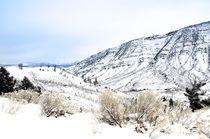 Rocky Mountains im Winterkleid von Marianne Drews