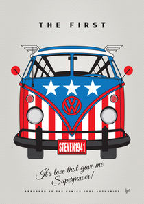 MY SUPERHERO-VW-T1-Captain America by chungkong