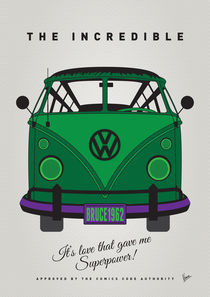 MY SUPERHERO-VW-T1-Hulk by chungkong