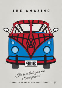 MY SUPERHERO-VW-T1-spiderman by chungkong