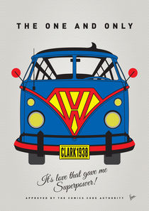 MY SUPERHERO-VW-T1-superman by chungkong