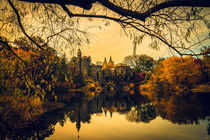 Belvedere Castle In Autumn by Chris Lord