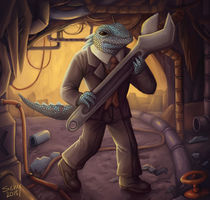 lizardman by sushy