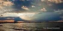Sonnenuntergang  von Kurt Gruhlke