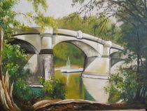 Brücke Insel Grafenwerth by Dorothy Maurus