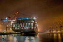 Containerschiff CSCL Globe by wunschbase-photography
