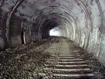 Licht am Ende des Tunnels 3 by Martin Müller