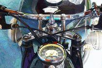 BMW R69S ARTWORK von Ingo Laue