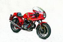 Ducati 900 SS Königswelle ARTWORK von Ingo Laue