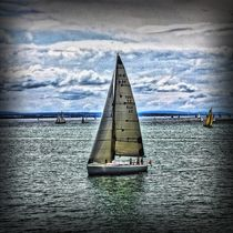 Sailing Boat by Carmen Wolters