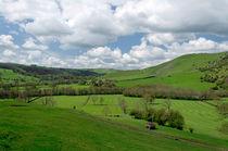 Across the Valley, Thorpe to Ilam von Rod Johnson