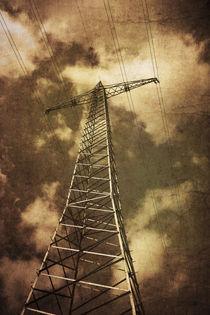 Strommast von Christina Beyer