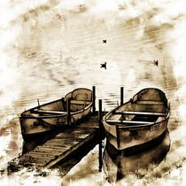 Twin Boats von Carmen Wolters